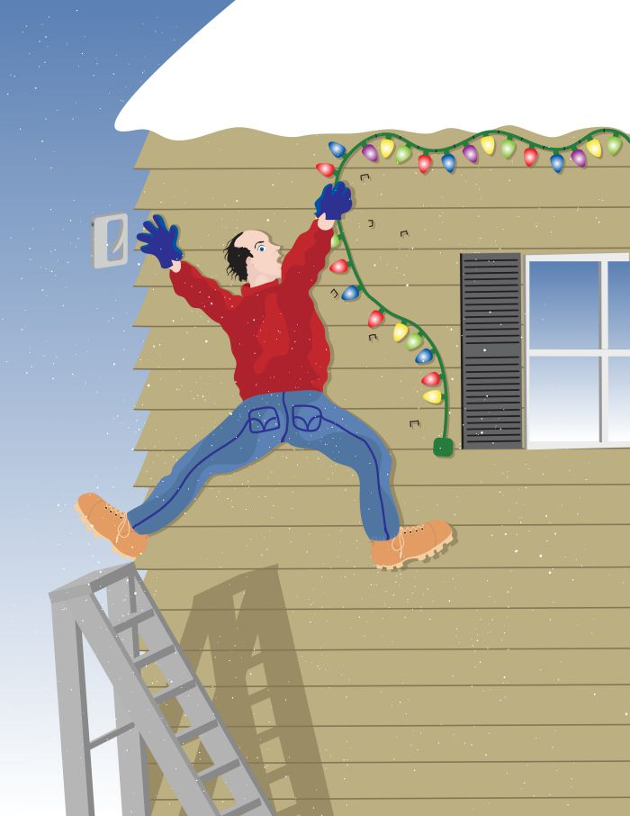 Tradition or Tragedy? Christmas Light Safety Tips - Your Holiday ...:... on SafeElectricity.org about how he lost his hand and suffered 27 exit  wounds after being electrocuted while hanging his mother's Christmas lights:,Lighting