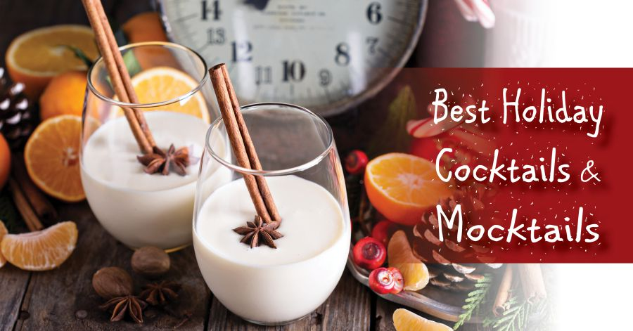 Best Holiday Cocktails and Mocktails